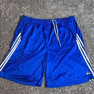 Adidas Mens Blue Athletic Shorts SZ.XL